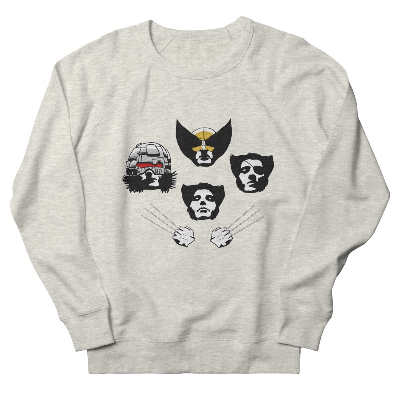 Wolverian Rhapsody Men's Sweatshirt by Andrew's Fantastic World Shop