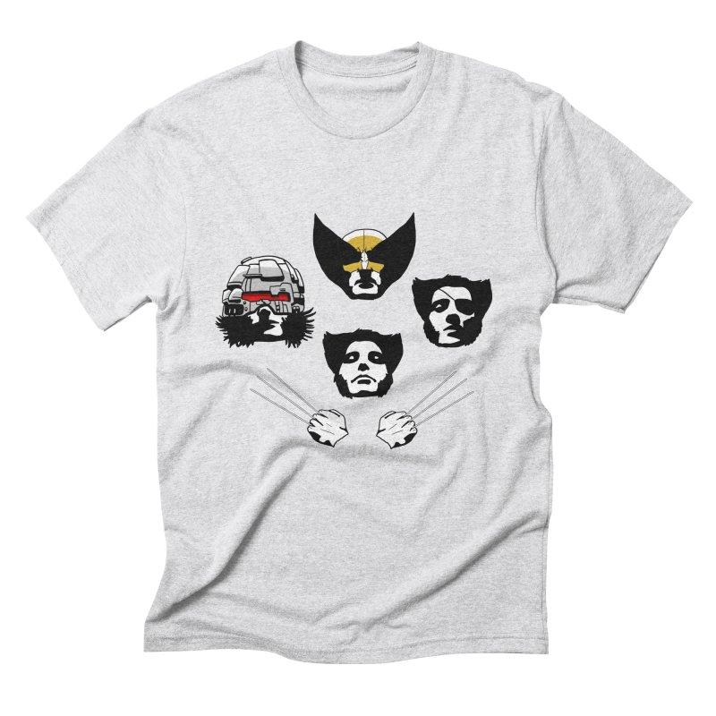 Wolverian Rhapsody Men's Triblend T-Shirt by Andrew's Fantastic World Shop