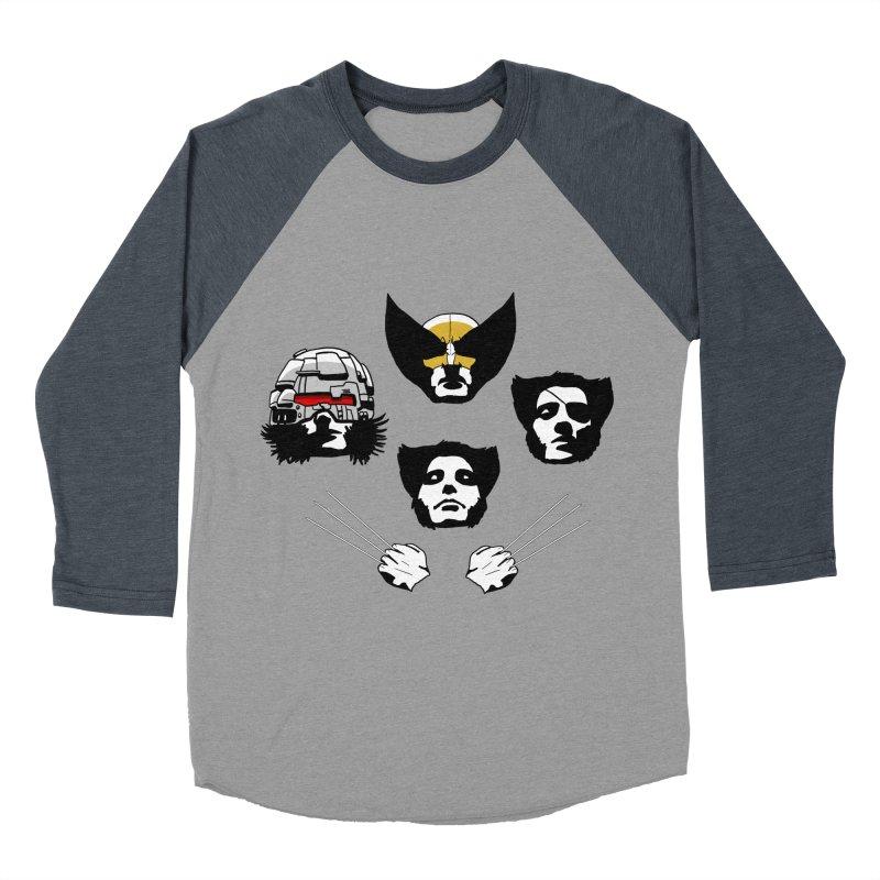 Wolverian Rhapsody Women's Baseball Triblend T-Shirt by Andrew's Fantastic World Shop