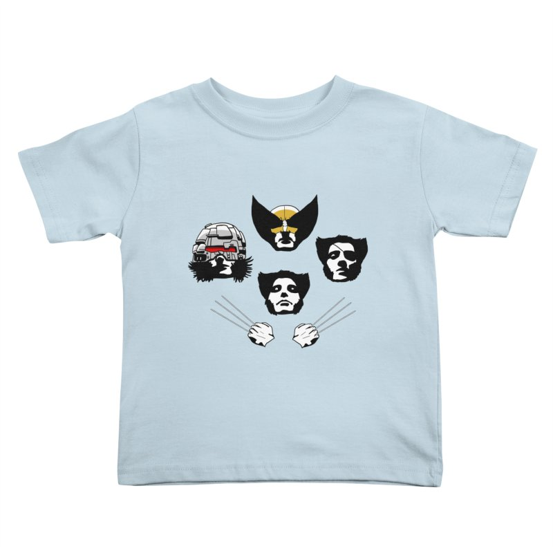 Wolverian Rhapsody Kids Toddler T-Shirt by Andrew's Fantastic World Shop