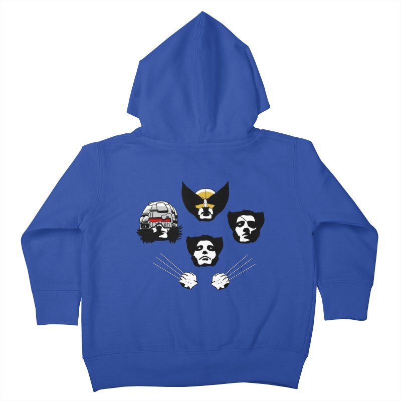 Wolverian Rhapsody Kids Toddler Zip-Up Hoody by Andrew's Fantastic World Shop