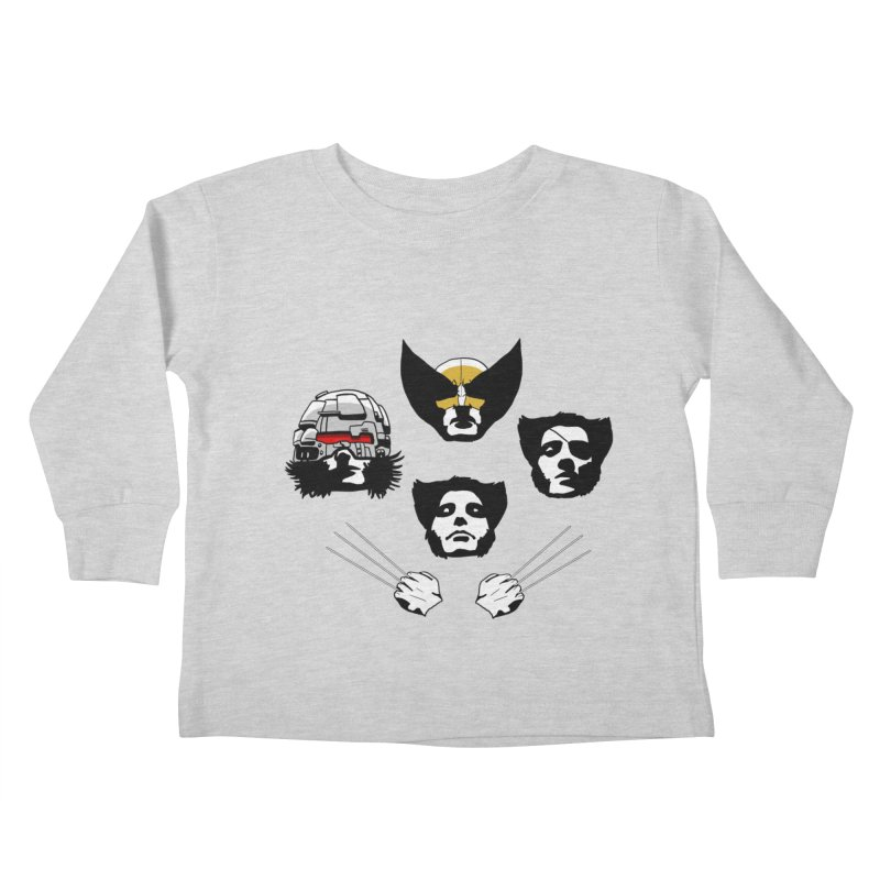 Wolverian Rhapsody Kids Toddler Longsleeve T-Shirt by Andrew's Fantastic World Shop