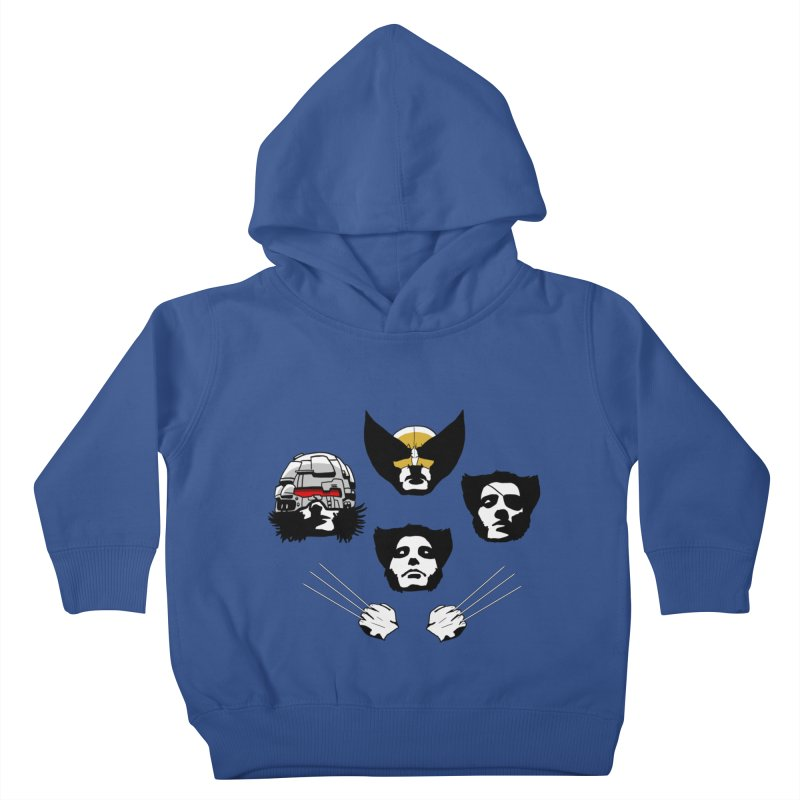 Wolverian Rhapsody Kids Toddler Pullover Hoody by Andrew's Fantastic World Shop