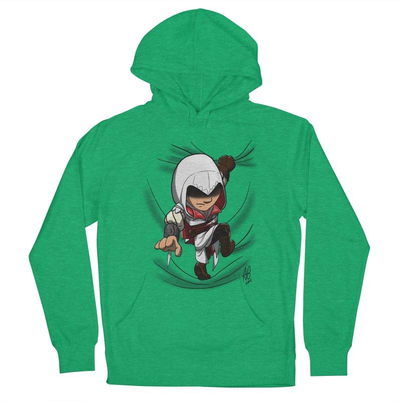 Assassin's Climb Men's Pullover Hoody by Andrew's Fantastic World Shop