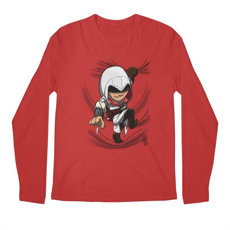 Assassin's Climb Men's Longsleeve T-Shirt by Andrew's Fantastic World Shop