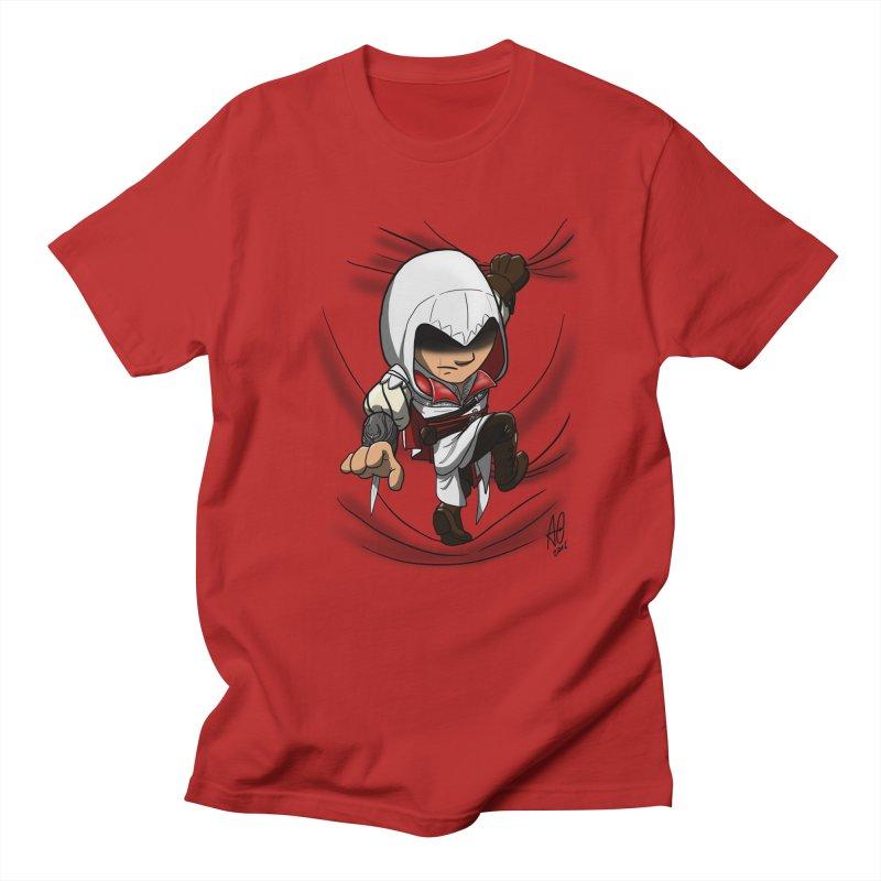 Assassin's Climb Men's T-shirt by Andrew's Fantastic World Shop