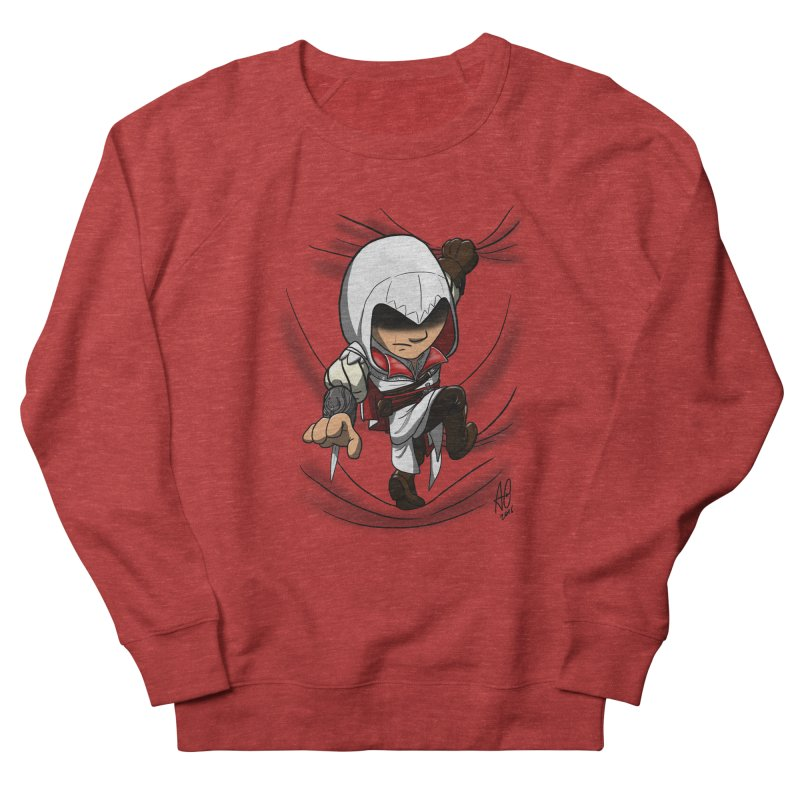 Assassin's Climb Women's Sweatshirt by Andrew's Fantastic World Shop