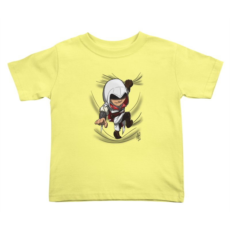 Assassin's Climb Kids Toddler T-Shirt by Andrew's Fantastic World Shop