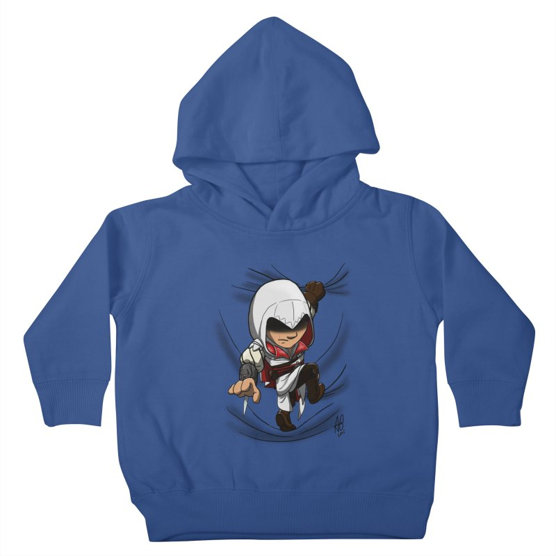 Assassin's Climb Kids Toddler Pullover Hoody by Andrew's Fantastic World Shop