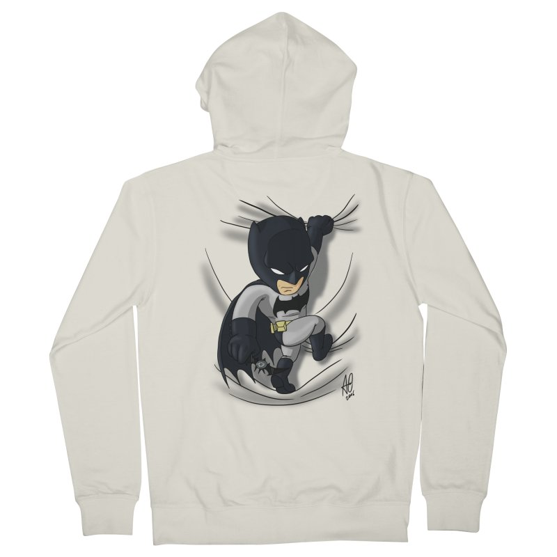 Looking for justice Women's French Terry Zip-Up Hoody by Andrew's Fantastic World Shop