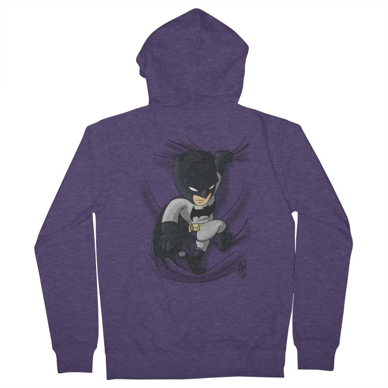 Looking for justice Men's Zip-Up Hoody by Andrew's Fantastic World Shop