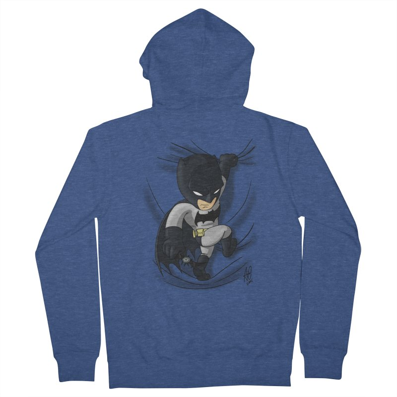 Looking for justice Men's French Terry Zip-Up Hoody by Andrew's Fantastic World Shop
