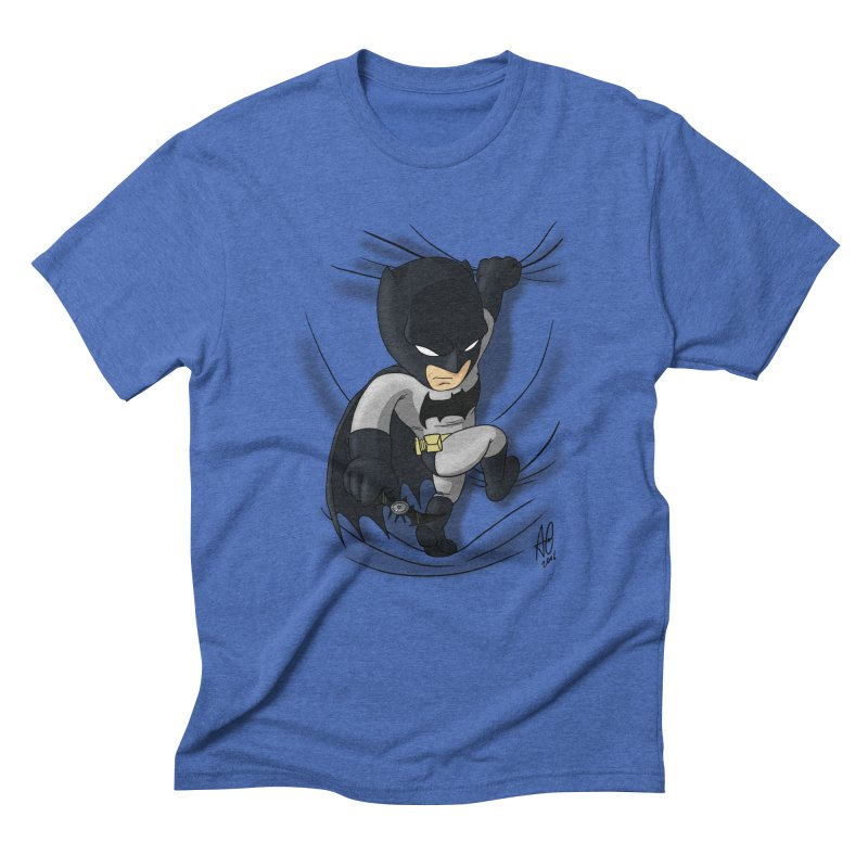 Looking for justice Men's Triblend T-Shirt by Andrew's Fantastic World Shop