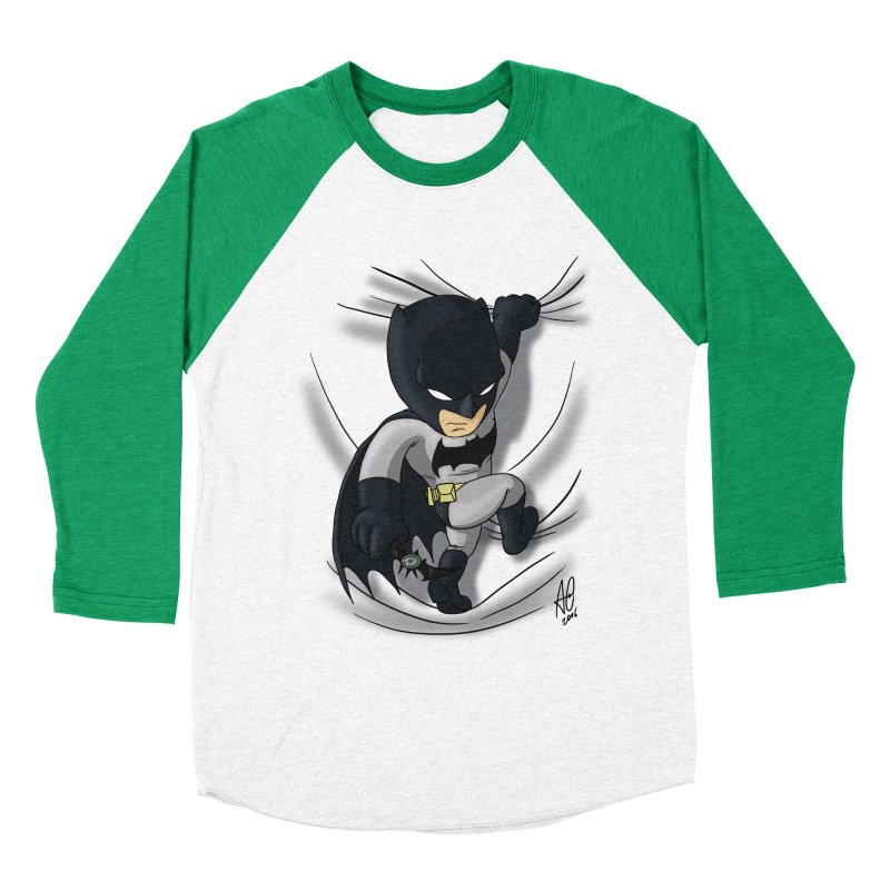 Looking for justice Women's Baseball Triblend T-Shirt by Andrew's Fantastic World Shop