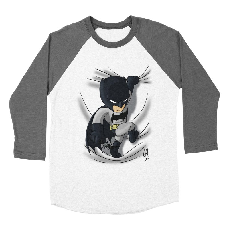 Looking for justice Men's Baseball Triblend T-Shirt by Andrew's Fantastic World Shop