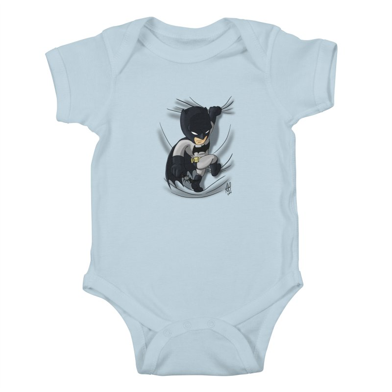 Looking for justice Kids Baby Bodysuit by Andrew's Fantastic World Shop