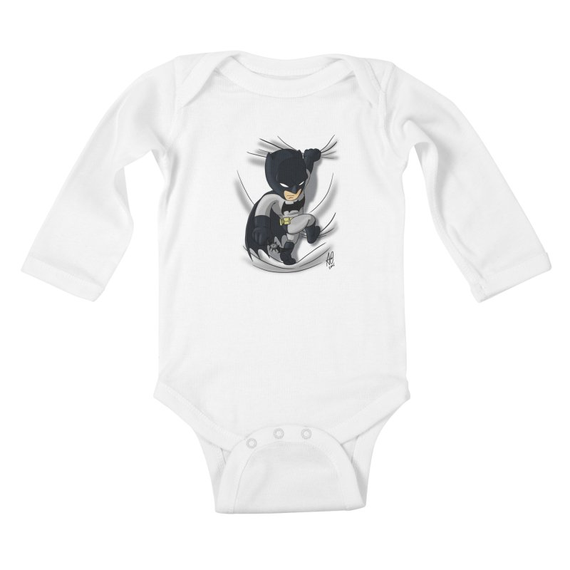 Looking for justice Kids Baby Longsleeve Bodysuit by Andrew's Fantastic World Shop