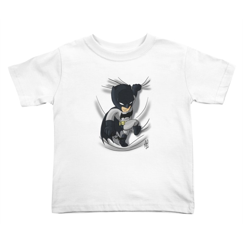 Looking for justice Kids Toddler T-Shirt by Andrew's Fantastic World Shop