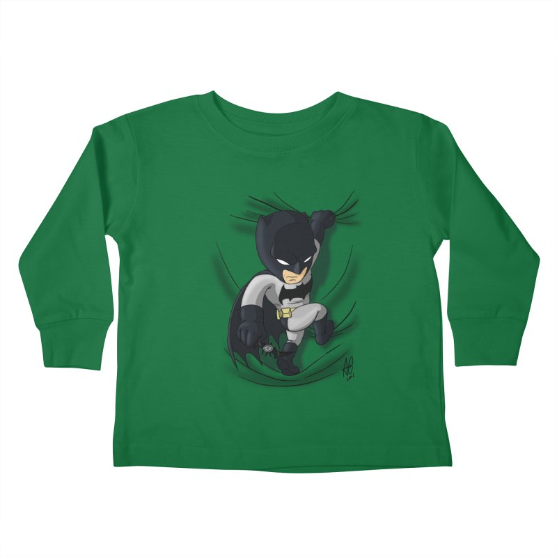 Looking for justice Kids Toddler Longsleeve T-Shirt by Andrew's Fantastic World Shop