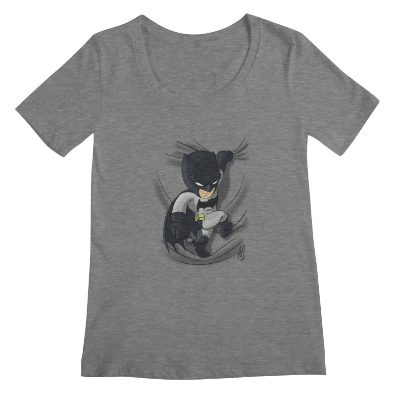 Looking for justice Women's Scoopneck by Andrew's Fantastic World Shop