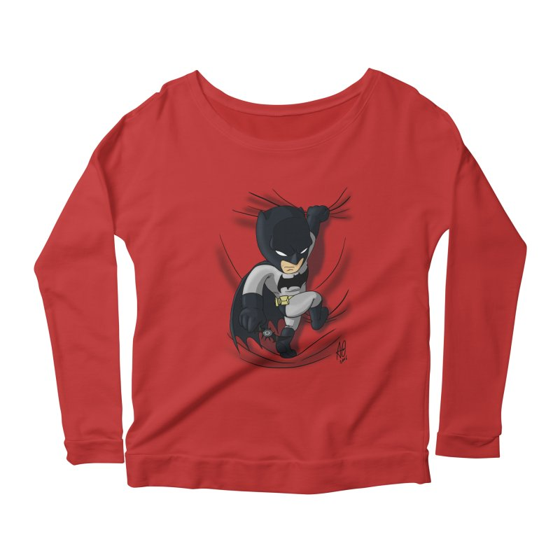 Looking for justice Women's Longsleeve Scoopneck  by Andrew's Fantastic World Shop