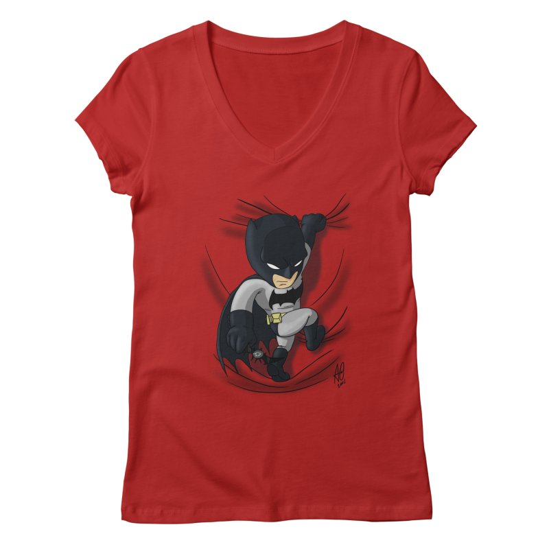 Looking for justice Women's V-Neck by Andrew's Fantastic World Shop