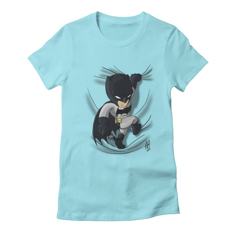 Looking for justice Women's Fitted T-Shirt by Andrew's Fantastic World Shop