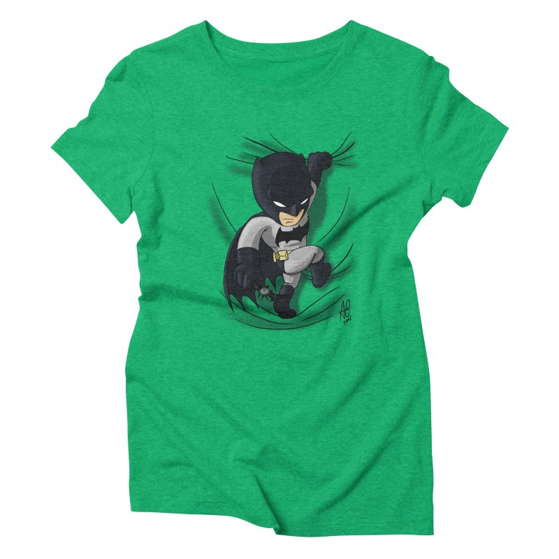 Looking for justice Women's Triblend T-Shirt by Andrew's Fantastic World Shop