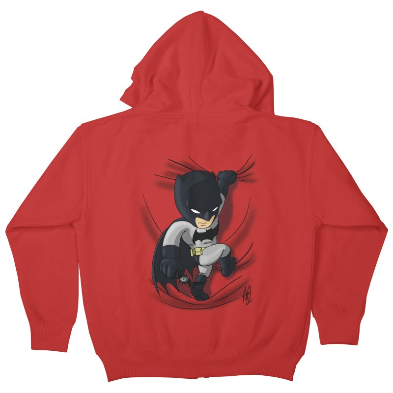 Looking for justice Kids Zip-Up Hoody by Andrew's Fantastic World Shop