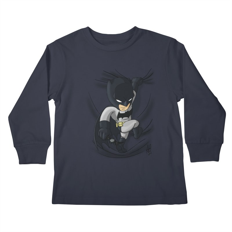 Looking for justice Kids Longsleeve T-Shirt by Andrew's Fantastic World Shop