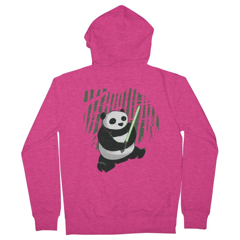 Pandawan Women's Zip-Up Hoody by Andrew's Fantastic World Shop
