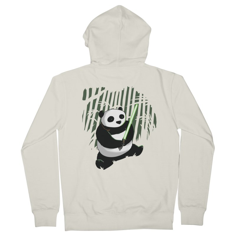 Pandawan Men's Zip-Up Hoody by Andrew's Fantastic World Shop