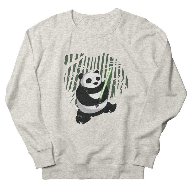 Pandawan Women's French Terry Sweatshirt by Andrew's Fantastic World Shop