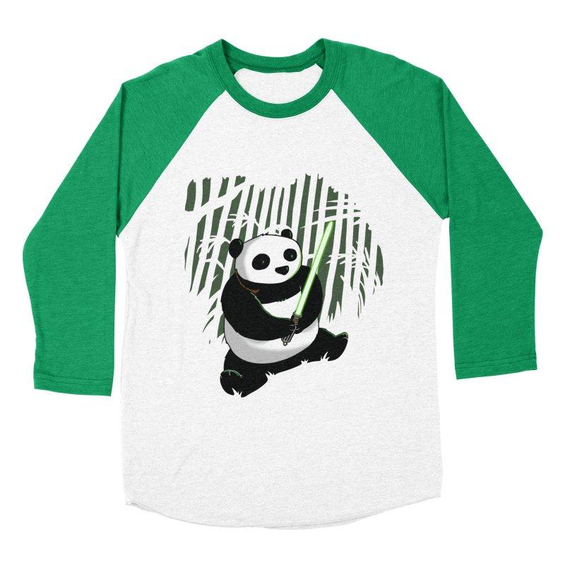 Pandawan Men's Baseball Triblend T-Shirt by Andrew's Fantastic World Shop