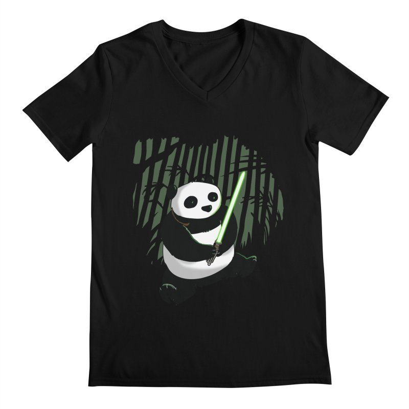 Pandawan Men's V-Neck by Andrew's Fantastic World Shop