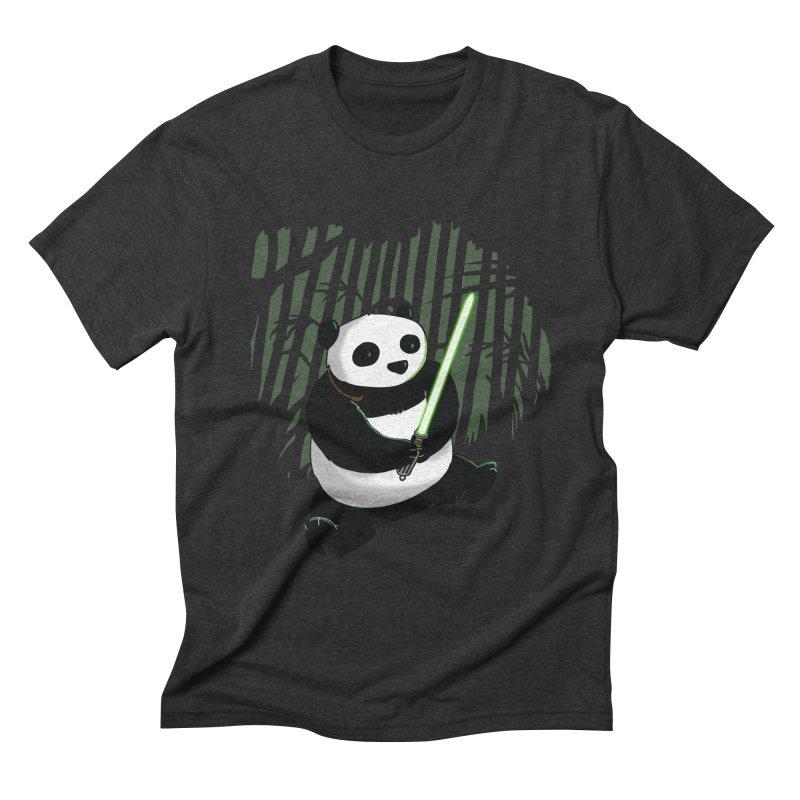 Pandawan Men's Triblend T-shirt by Andrew's Fantastic World Shop