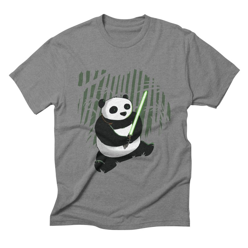 Pandawan Men's Triblend T-shirt by Andrew's Fantastic World Shop