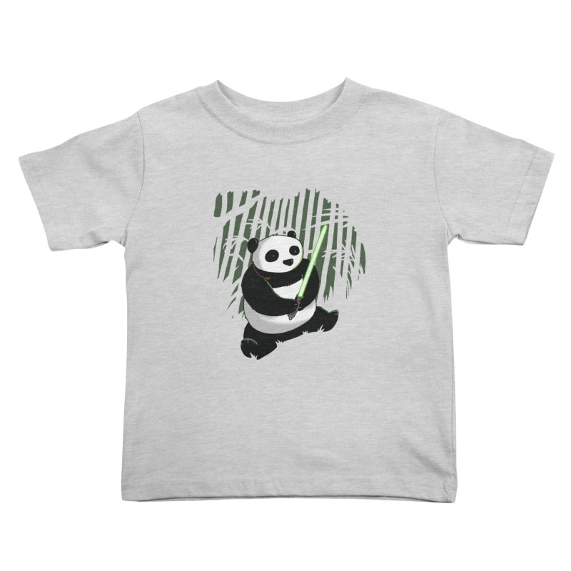 Pandawan Kids Toddler T-Shirt by Andrew's Fantastic World Shop