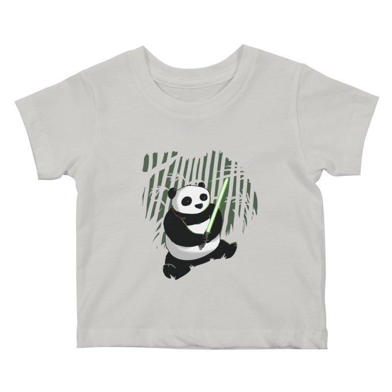 Pandawan Kids Baby T-Shirt by Andrew's Fantastic World Shop