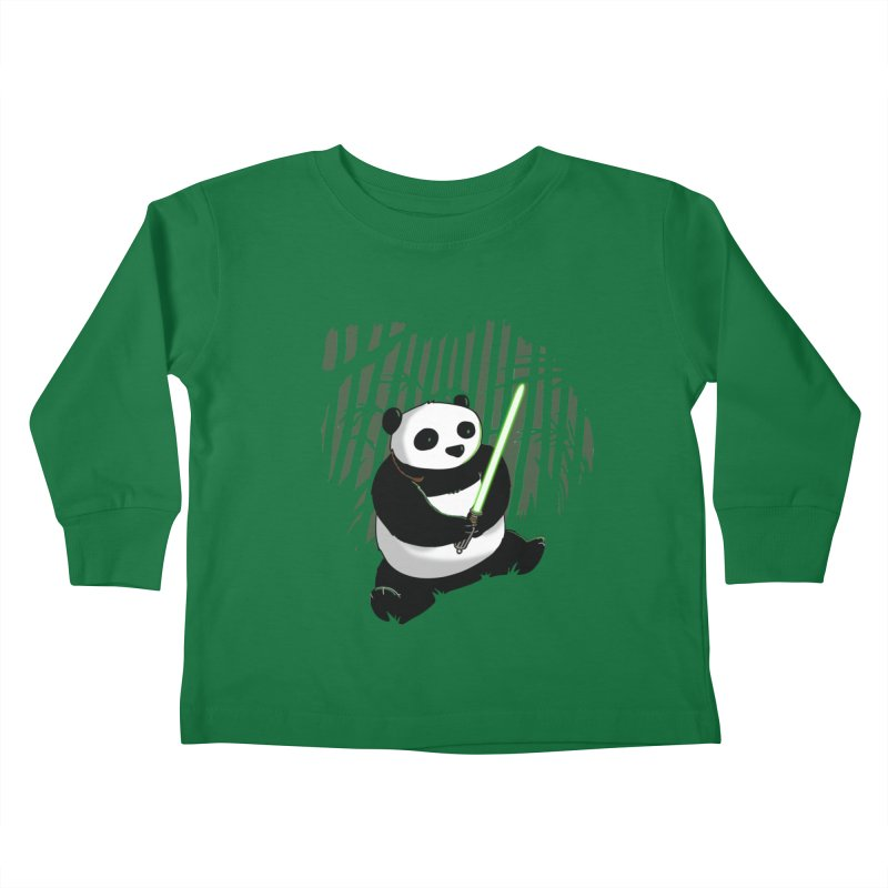 Pandawan Kids Toddler Longsleeve T-Shirt by Andrew's Fantastic World Shop