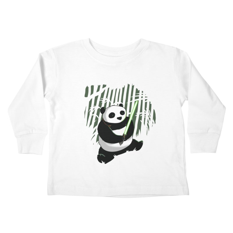 Pandawan Kids Toddler Longsleeve T-Shirt by Andrew's Fantastic World Shop