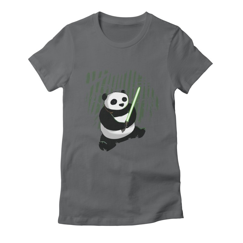 Pandawan Women's Fitted T-Shirt by Andrew's Fantastic World Shop