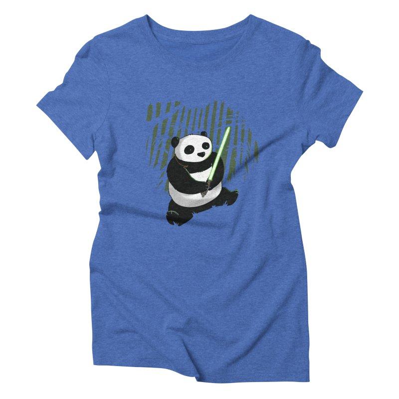 Pandawan Women's Triblend T-Shirt by Andrew's Fantastic World Shop