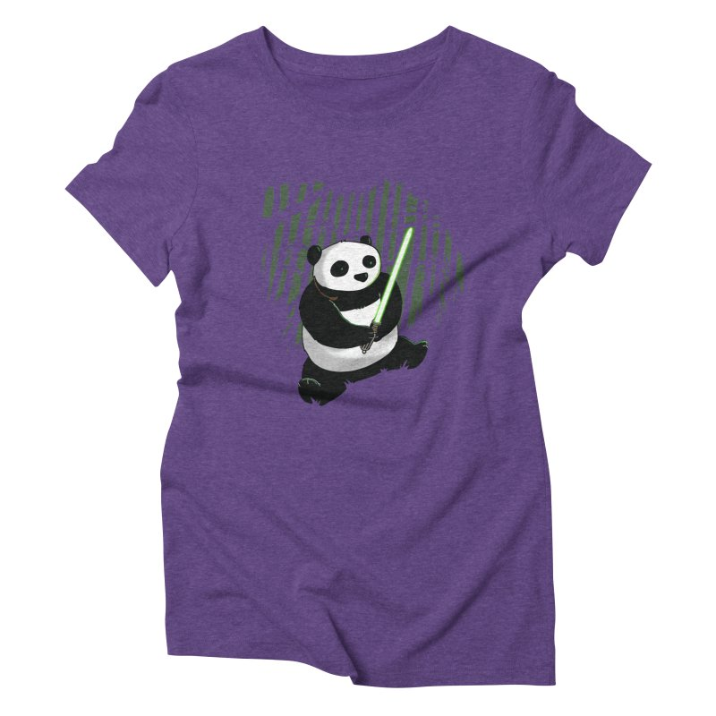 Pandawan Women's Triblend T-Shirt by Andrew's Fantastic World Shop
