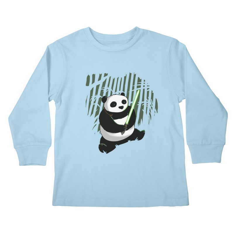 Pandawan Kids Longsleeve T-Shirt by Andrew's Fantastic World Shop
