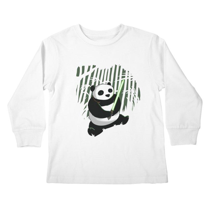 Pandawan Kids Longsleeve T-Shirt by Andrew's Fantastic World Shop
