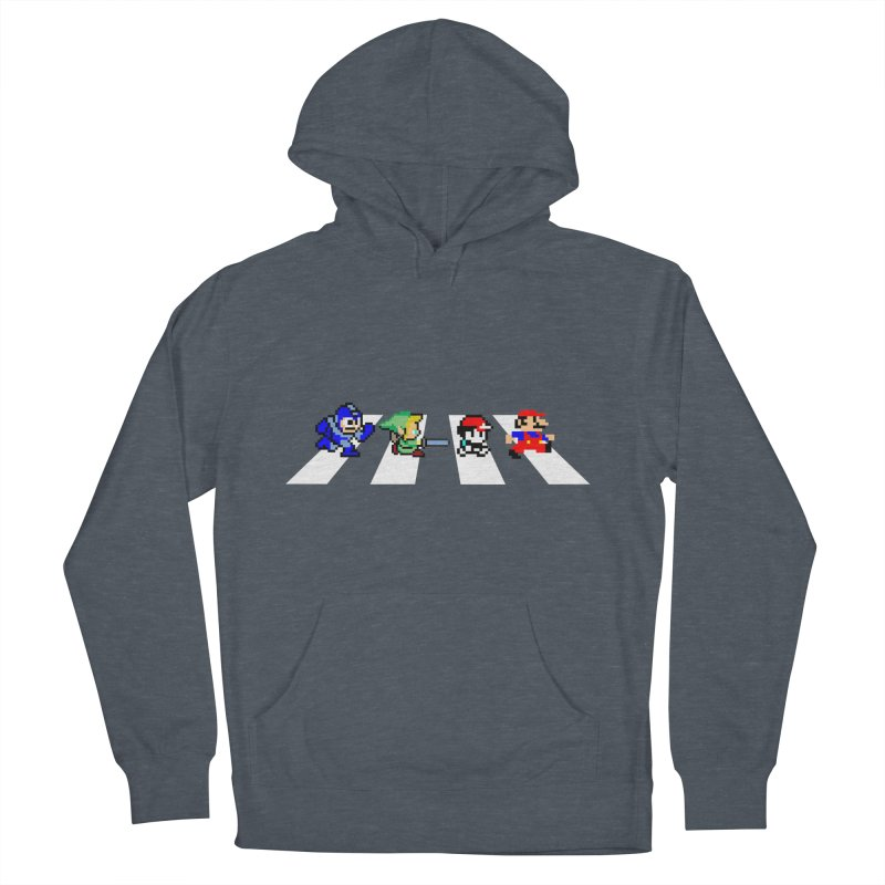8bit road Women's Pullover Hoody by Andrew's Fantastic World Shop