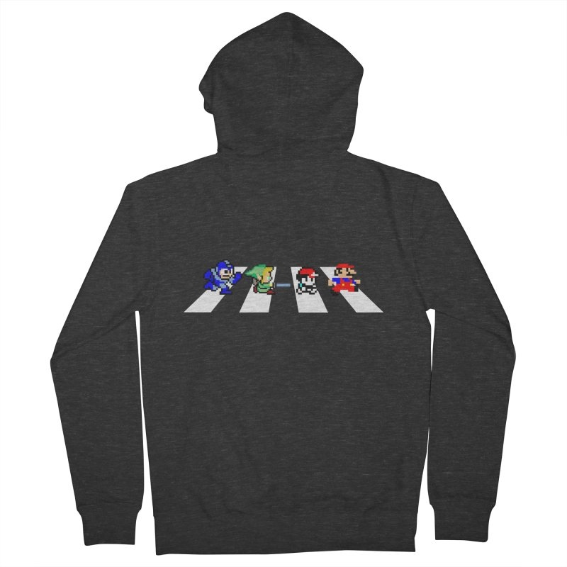8bit road Women's Zip-Up Hoody by Andrew's Fantastic World Shop