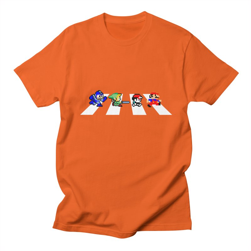 8bit road Men's T-Shirt by Andrew's Fantastic World Shop