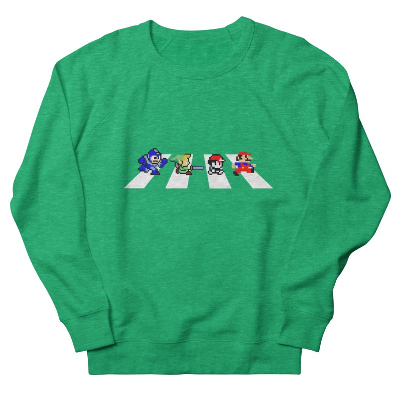 8bit road Women's Sweatshirt by Andrew's Fantastic World Shop